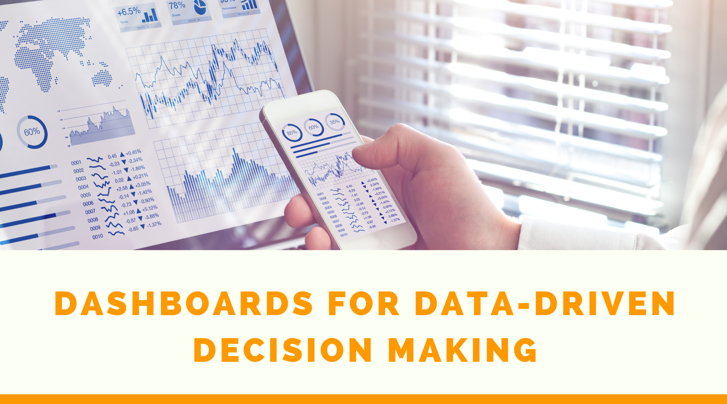 Dashboards for Data-Driven Decision Making:  As Easy as Driving Your Car