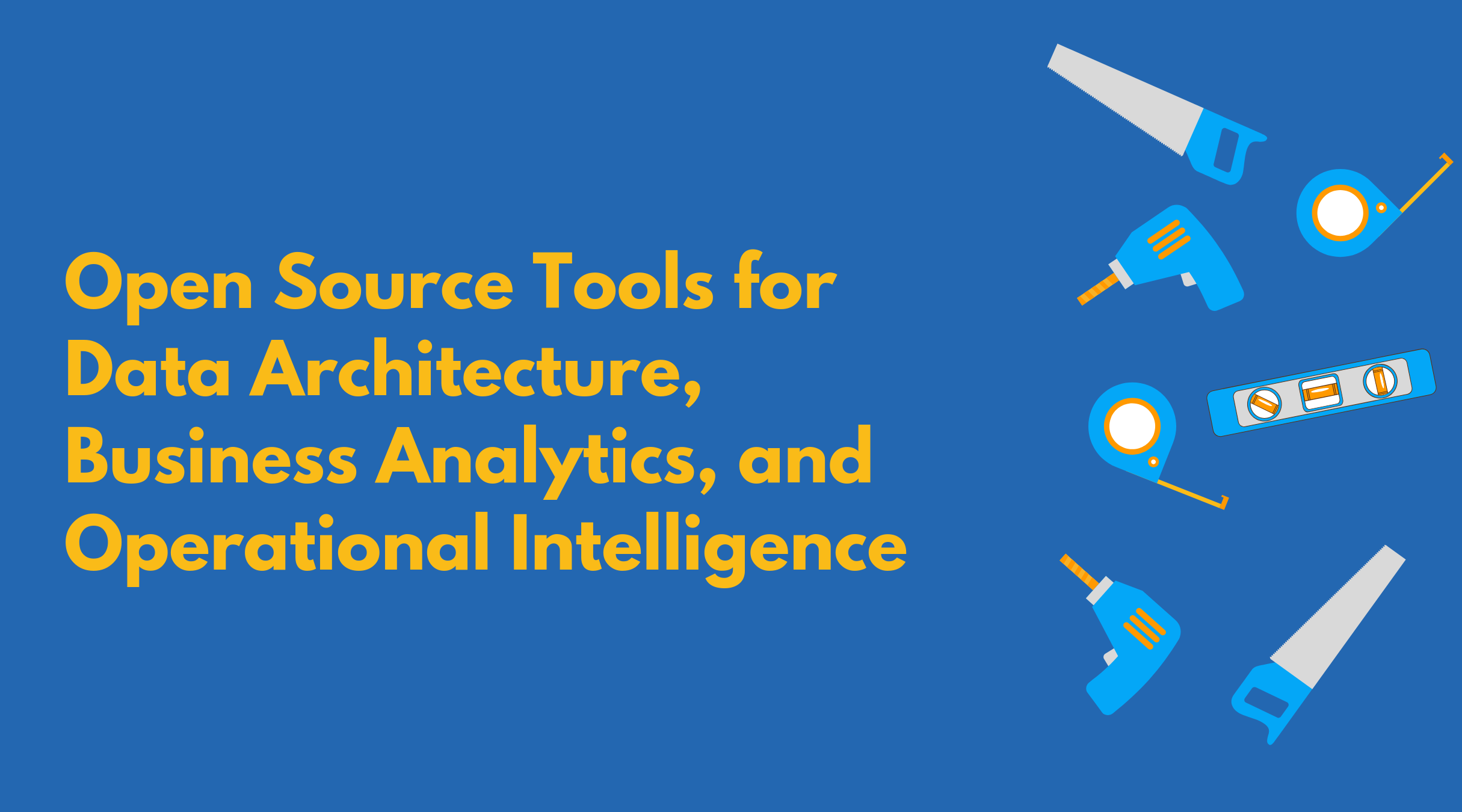 Open Source Tools for Data Architecture, Business Analytics, and Operational Intelligence: Tech's Little Free Library