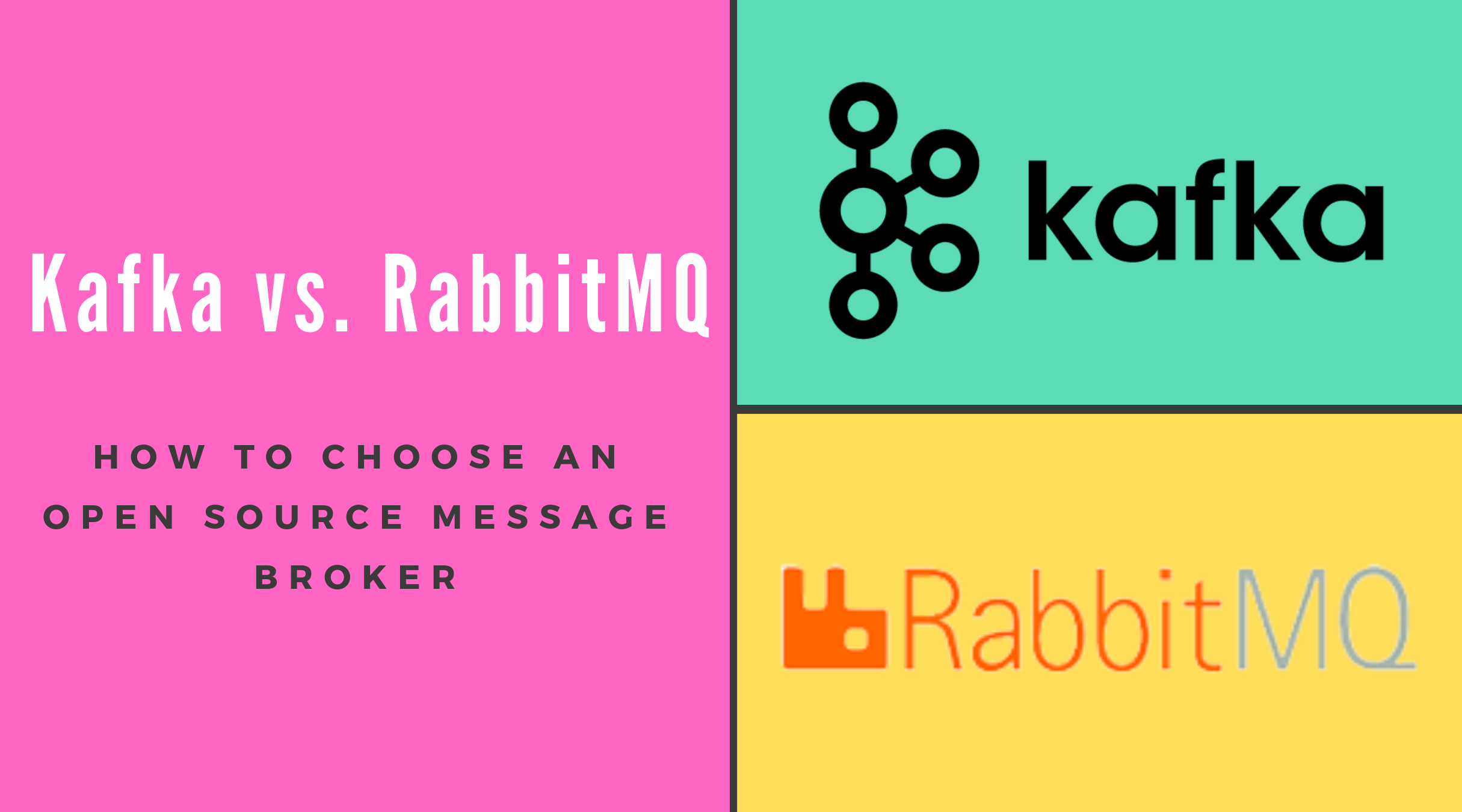 Kafka vs. RabbitMQ:  How to choose an open source message broker