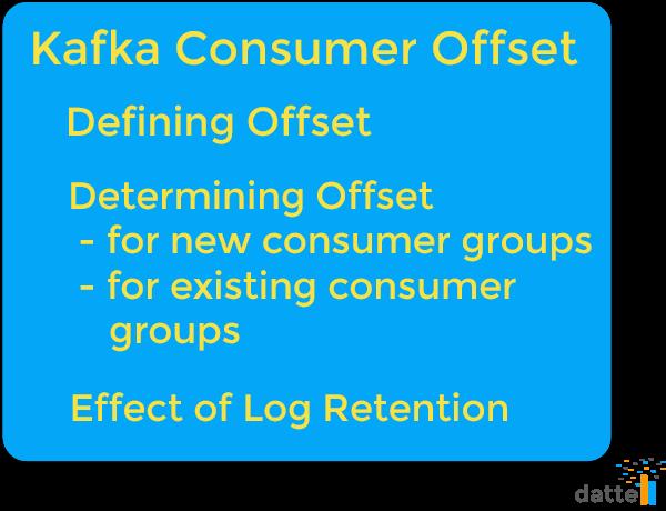 Understanding Kafka Consumer Offset